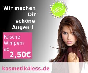kosmetik4less.de - Falsche Wimpern, Perücken und Haarteile