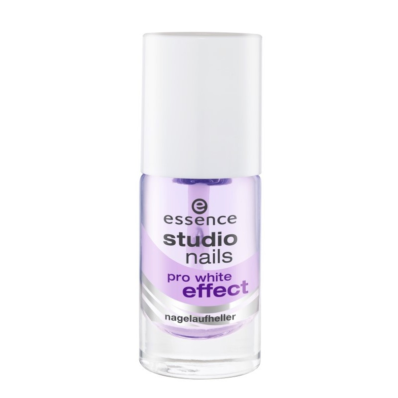 essence - studio nails pro white effect
