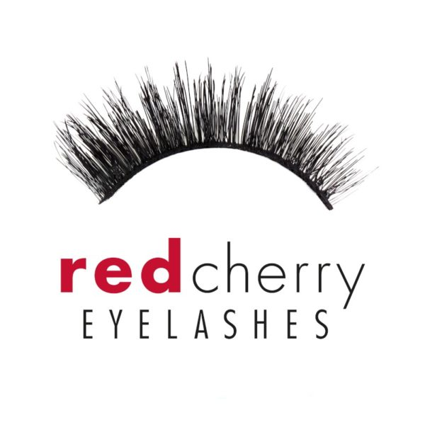 Red Cherry Falsche Wimpern el203 Red Hot Wink Collections Shadow Effect Echthaar Einzelbild